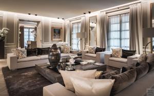 Luxe design woonkamer